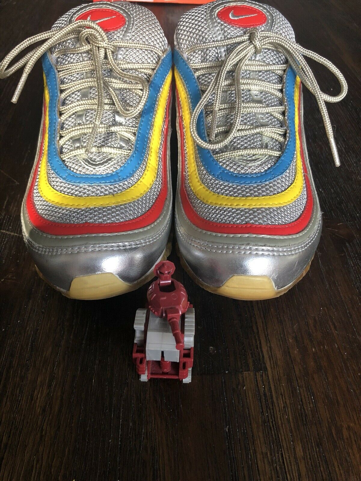 Nike Air Max 97 FINISHLINE 25th ANNIVERSARY Metallic argent Bullet Wotherspoon