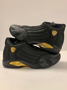 buy online 63d92 c883d Details about AIR JORDAN XIV 14 RETRO DMP BLACK GOLD DEFINING MOMENT  487471-022 Size 10.5