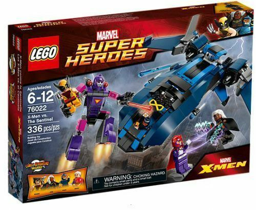 76022 X-Uomo VS THE SENTINEL lego legos set magneto storm cyclops super heroes