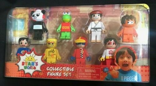 Ryan/'s World Collectible Figure 8-Piece Set New in Package// FREE SHIPPING