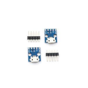 2PCS-A84-MCU-micro-USB-Adapter-Plate-Breakout-Board-5V-PYL