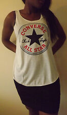 CONVERSE ALLSTAR T-Shirt Vest Tank Top TOP Ladies Women Girls New TSHIRT