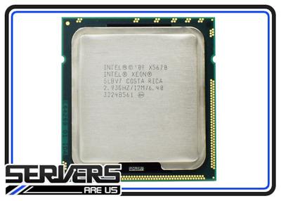 Intel Xeon X5670 SLBV7 2.93GHz 6 Cores 95W 12MB Westmere EP LGA1366