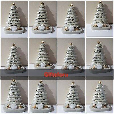 Natale Albero Natale Tomba Memoriale Ornamento Tutti I Tipi Tremolante Luce Tè-mostra Il Titolo Originale Altamente Lucido