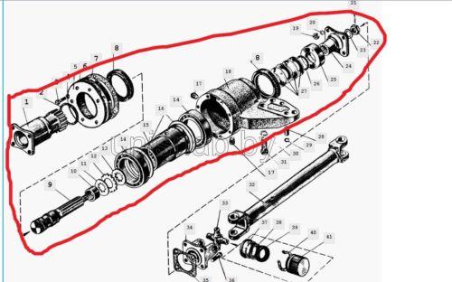 Belarus tractor Prop propeller shaft 50//52//80//82//500//800//900//1000//5000//8000//9000