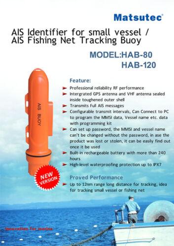 Marine AIS Fishing Boat Tracking Buoy//Locator AIS Equipent 12nm 8w //SOS Function