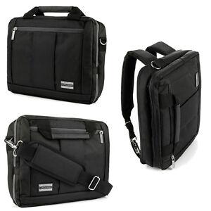 Image Is Loading 17 3 034 Black Laptop Messenger Backpack Bag