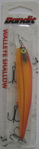 Orange Crush 5//8 oz Bandit Lures  Walleye Shallow Diver