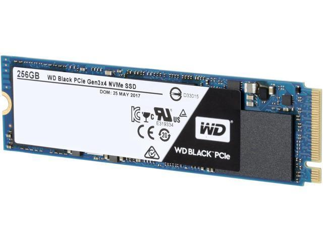 WD Black 256GB Performance SSD - M.2 2280 PCIe NVMe Solid State Drive - WDS256G1