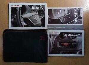 SEAT IBIZA Audio Guide Owners Manual // Handbook Wallet 2008-2012