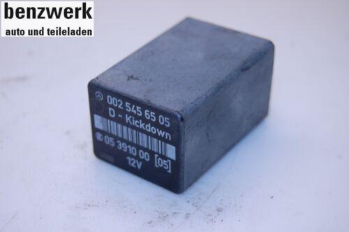 MERCEDES diverses gammes relais kickdowm 0025456505