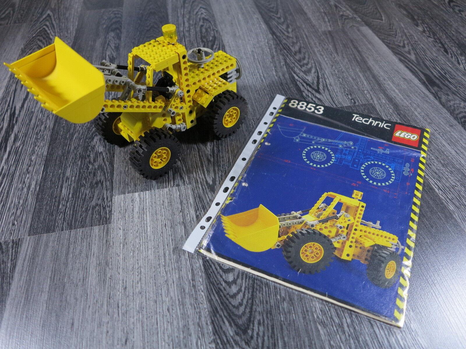 LEGO TECHNIK TECHNIK TECHNIK 8853 Bagger Radlader mit Bauanleitung 7cf102
