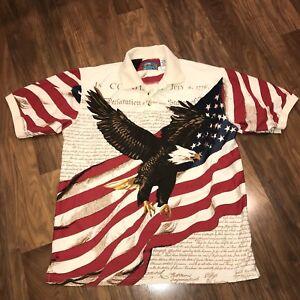 19f6ea50 Image is loading USA-Constitution-American-FLAG-Bald-Eagle-UNITED-STATES-
