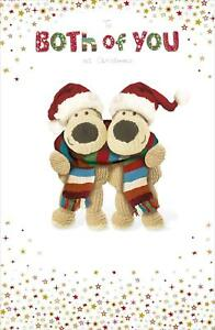 BOOFLE TO BOTH OF YOU CHRISTMAS CARD NEW GIFT
