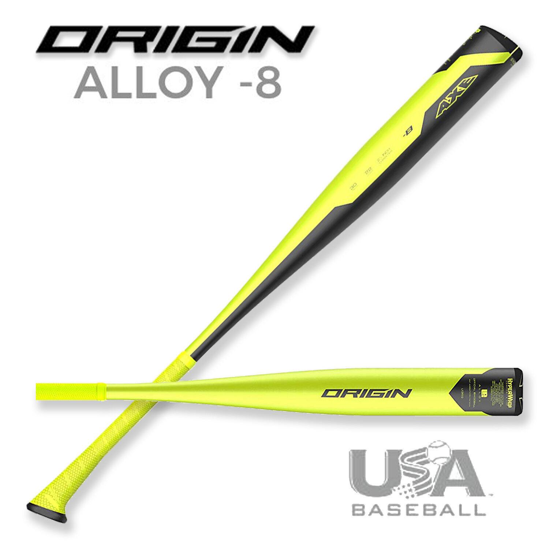 2019 Axe Origin USABAT 31 in.   23 oz. 2-5 8″ USA Baseball Bat -L135G-30-22