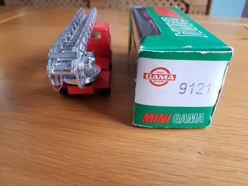 Rare Mini Gama 1921 Faun Fire Engine with with with Ladder GC Boxed 0a193d