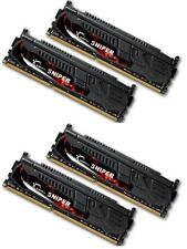 32GB G.Skill DDR3 PC3-17000 2133MHz Sniper Series CL10 Quad Channel kit (4x8GB)