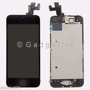 lcd screen display + touch screen digitizer + front camera