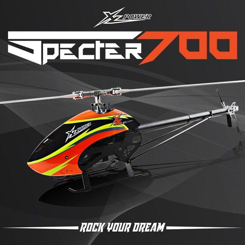 XL700 Specter 700 Kit (rojoortech Blades) XL70K01 XL70K02