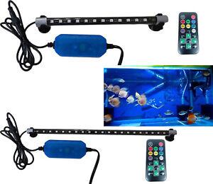 Pdr * Néon Led Led Immersion Aquarium Tube Lumière Fish T4 12 21 33 Couleurs