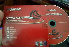 Defender Internet Security 2009  - PC CD ROM - FREE POST