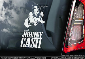 Johnny-Cash-Car-Window-Sticker-Country-Rock-amp-Roll-Music-Autograph-Signature