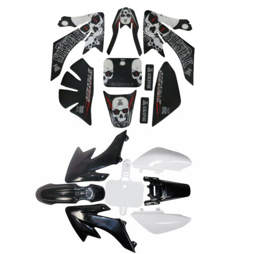 PLASTIC FENDER GRAPHICS STICKER KIT for CRF50 XR 50 125 SSR 70cc 110cc PIT BIKE