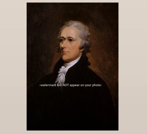 Alexander Hamilton PHOTO Founding Father Art Print Pic 1st Secretary of Treasury