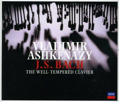 Vladimir Ashkenazy, - Well-Tempered Klavier Books 1 & 2 [New CD]