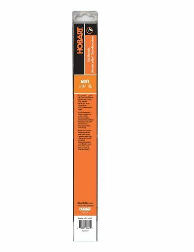 1//16-Inch New Hobart H112216-R01 1-Pound Plastic 6011 Stick Electrode Free Sh