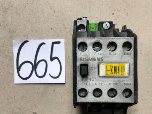 Siemens 3tf40 10e 110v hilfsschütz tactor