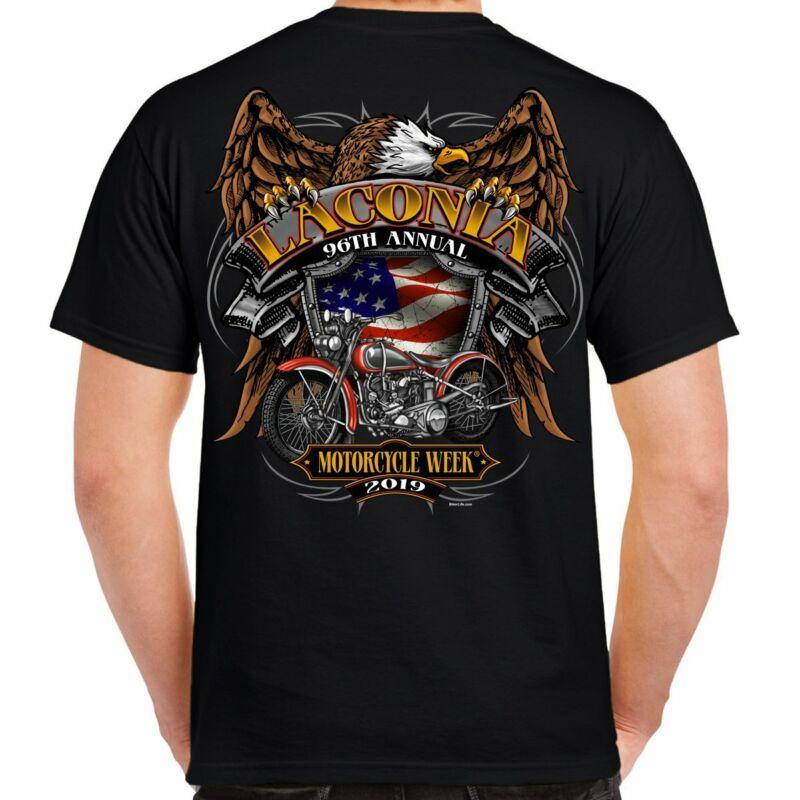 2019 Laconia Motorcycle Week Rebel Rider T-shirt