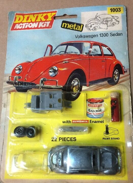 DINKY TOYS Action Kit   1003 VOLKSWAGEN 1300 BERLINE blister U.S Vendeur