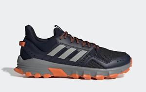 New adidas ROCKADIA TRAIL SHOES EE9557 Running Legend Ink   Grey   orange  a1