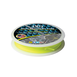 AMS Bowfishing Replacement Line Yellow #200 25 YARDS Fits Standard Bottle