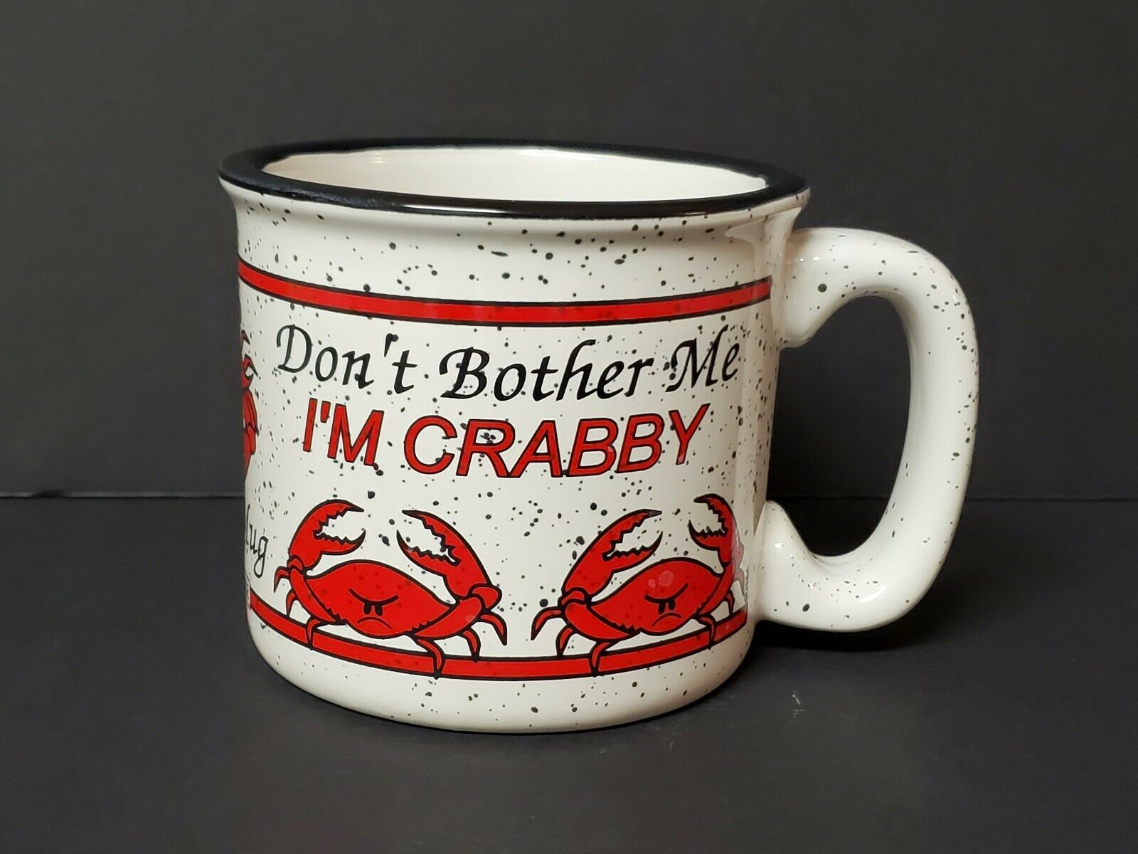 Crabby 14 Oz Microwaveable Soup Mug