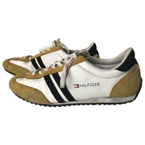 5 in Scarpe ginnastica scamosciata da Hilfiger bianca 6 scamosciatore Uk Int pelle Tommy Branson sneakers con IxpZYqEZw