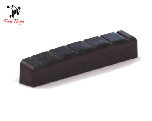 Black 43mm USA Made NUT-007-B1 Tone Ninja Slotted PRS SE Nut