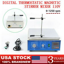 Cj 882a Hot Plate Magnetic Stirrer Mixer Stirring Lab 10l High Power Stirrer Usa