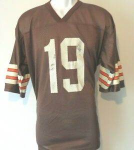 Vintage-BERNIE-KOSAR-19-Browns-LARGE-JERSEY-NFL-Cleveland-football-Men-Nike