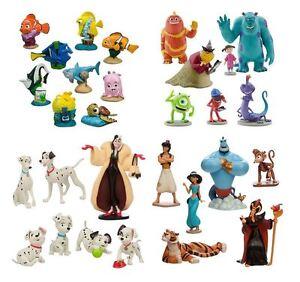 Finding-Nemo-Dori-Monsters-Inc-101-Dalmatians-Aladdin-Play-Set-Disney-Toy-Sets