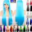 80cm-Long-Straight-Women-Cosplay-Costume-Party-Hair-Anime-Wigs-Full-Hair-Wig miniature 1