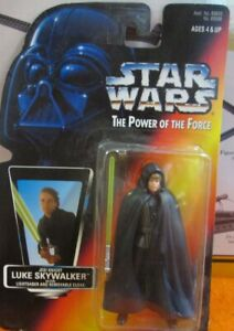 JEDI KNIGHT LUKE SKYWALKER CARDED ACTION FIGURE BY KENNER IN 1996 STAR WARS