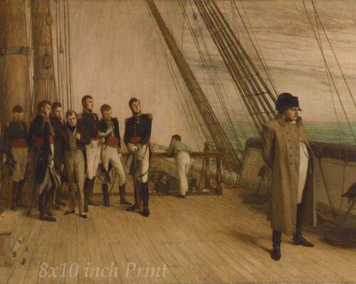 Bonaparte 8x10 Print 02008 Napoleon On Board the Bellerophon by W Q Orchardson