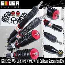 1998-2005 VW Golf Jetta 4 MK IV Beetle Full Coilover Suspension Lowering Kits