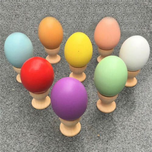 Simulation Fake Egg Realistic Chicken Duck Eggs for Kids Coloring Easter  L