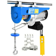 New Listing2200lbs Electric Wire Cable Hoist Winch Engine Crane Lift Wired Remote Control