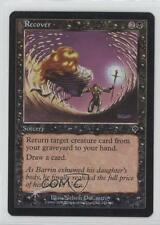 2000 Magic: The Gathering - Invasion Booster Pack Base Foil 122 Recover Card 1i3