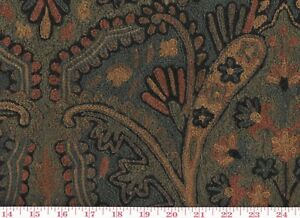 Image Is Loading Fabulous Hand Embroidered Roth Amp Tompkins Upholstery Fabric