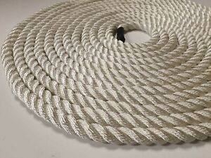 18mm-White-Nylon-Rope-3-Strand-Available-By-The-Metre-Mooring-Rope